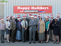 The Office Christmas Wallpaper 2010