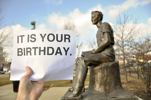 Abraham Lincoln It Is Your Birthday