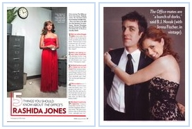 Jenna Fischer B.J. Novak Rashida Jones