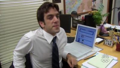 the office ryan howard myspace