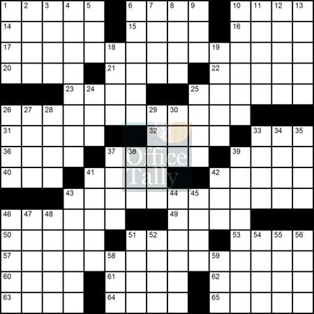 crossword-blank
