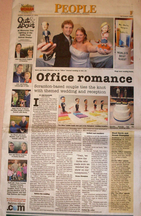 the_office_wedding_newspaper