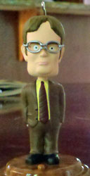 Hallmark Keepsake Ornament Dwight Bobblehead