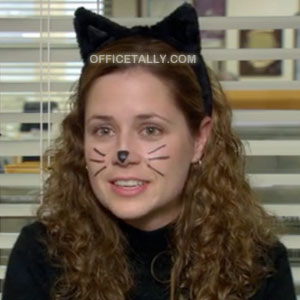 The Office Pam Halloween Costume: Cat