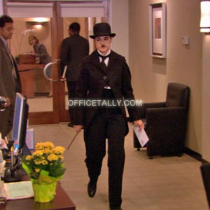 The Office: Pam Halloween Costume Charlie Chaplin