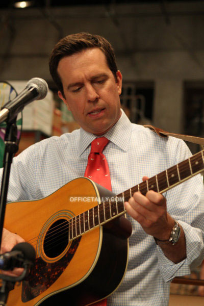 The Office The Sting Ed Helms Andy Andrew Bernard