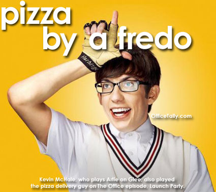 Glee Artie Kevin McHale The Office Pizza By Alfredo