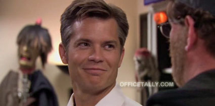 The Office Danny Cordray Timothy Olyphant