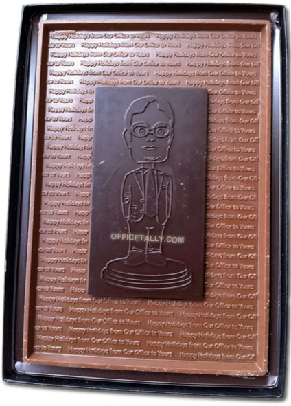 Dwight Schrute Chocolate Bar