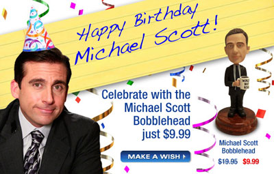 Happy Birthday Michael Scott
