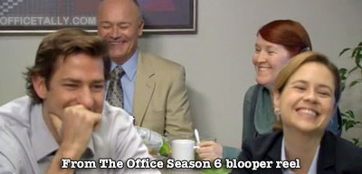 The Office Season 6 blooper reel