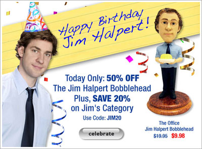 Happy Birthday Jim Halpert