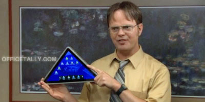 The Office Pyramid tablet