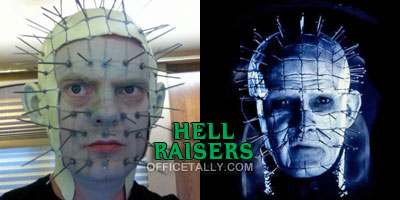 Dwight Schrute The Office Halloween Pinhead Hellraiser