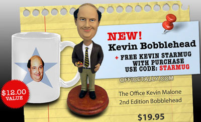 The Office Kevin Bobblehead