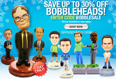 The Office Bobblehead Sale