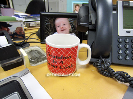 The Office: Jim Halpert's red mug