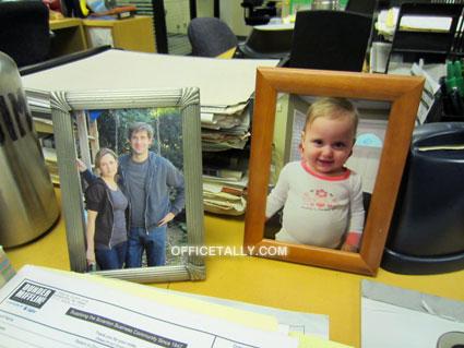 The Office: Photos on Jim Halpert's desk