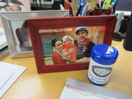 The Office: Photo on Pam Halpert's desk
