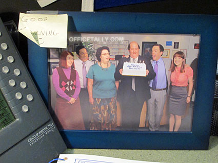 The Office: Kevin's birthday cake