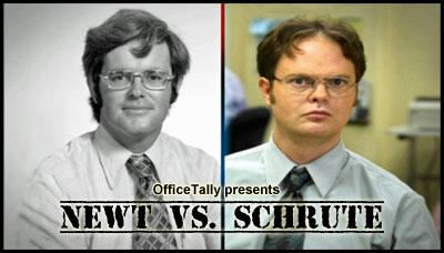Newt vs. Schrute