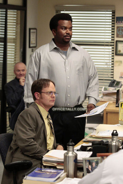 The Office: Jury Duty, Ed Helms Andy Bernard Craig Robinson Darryl Philbin