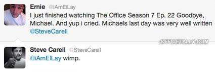 Steve Carell on Twitter