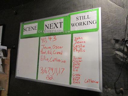 The Office scene board
