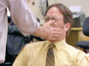 The Office Promo Slap Face
