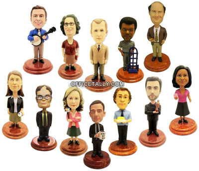 The Office Bobbleheads complete set