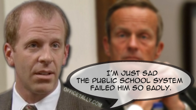 The Office's Toby Flenderson speaks about Todd Akin