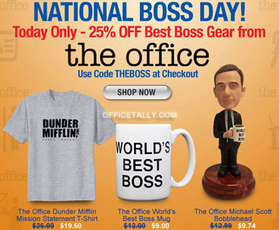 The Office National Boss Day