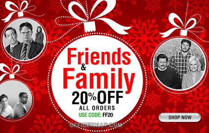 The Office Friends and Family Sale