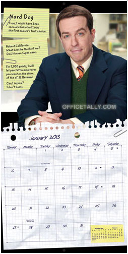 The Office 2013 Wall Calendar