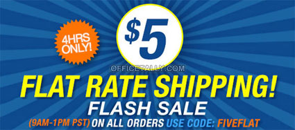 Flat Rate Shipping Sale