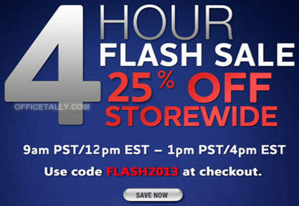 The Office 4 Hour Flash Sale