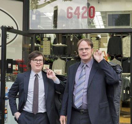 The Office: Suit Warehouse