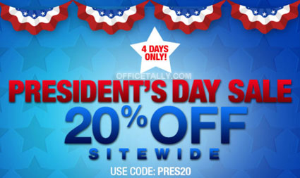The Office Presidents Day Sale