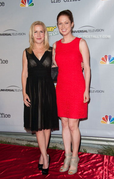 The Office Series Finale Wrap Party: Angela Kinsey and Ellie Kemper