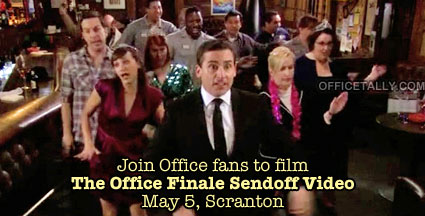 The Office Finale Sendoff Video Scranton