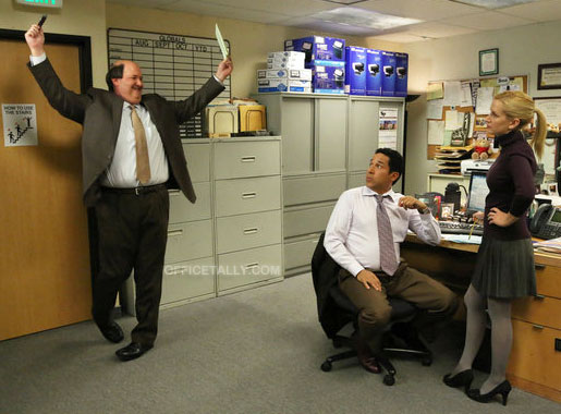 The Office: Stairmageddon photos