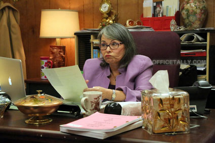 The Office: Stairmageddon photos Roseanne Barr