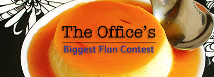 The Office's Biggest Flan Contest
