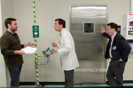 The Office: Paper Airplane Ed Helms