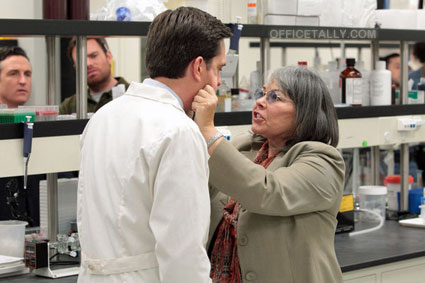 The Office: Paper Airplane Ed Helms Roseanne Barr