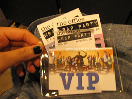 The Office Wrap Party: Friday VIP Event