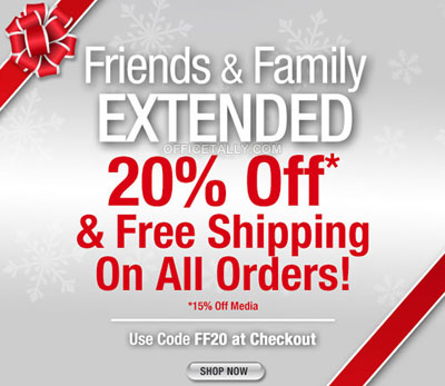 The Office Friends and Family discount coupon promo code