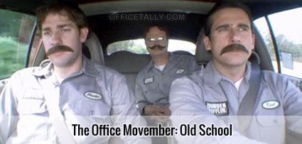 The Office Movember: Old School