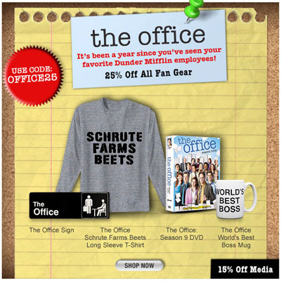 The Office Sale