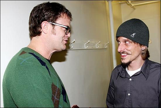 Dwight Schrute meets Gareth Keenan